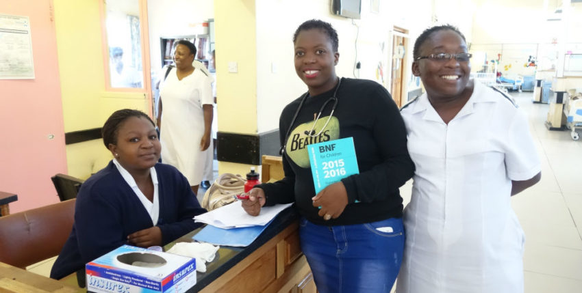 ZHTS visit to Chitungwiza hospital